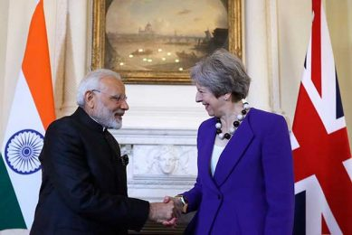 pm modi and pm may